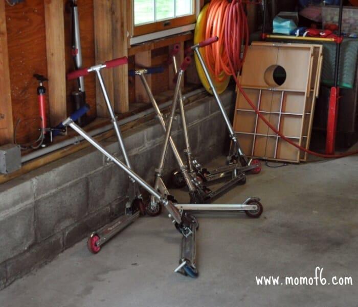 Fun Garage Thing : Summer camp at home fun thing to do ride bikes and