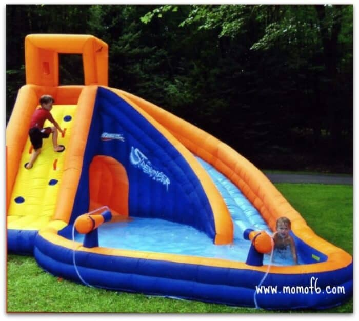 summer camp at home fun thing to do outdoor water play momof6. Black Bedroom Furniture Sets. Home Design Ideas