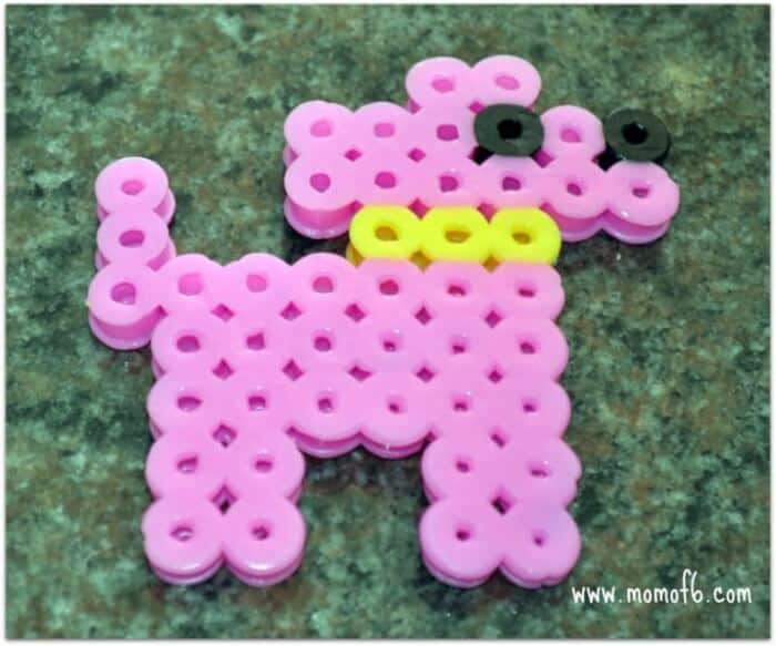 Summer Camp At Home Craft Melty Beads MomOf6