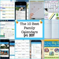 The 10 Best Family Calendars for 2017!