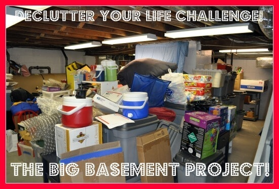 how to organize basement clutter pictures to pin on pinterest