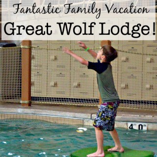 Great Family Vacation Idea: Great Wolf Lodge