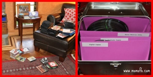 How to Declutter Your Media Cabinet in 1 Hour!