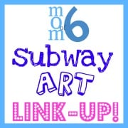 Link Up YOUR Easter and Spring Subway Art Printables!