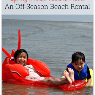 Spring Break Vacation Idea: An Off-Season Beach Rental