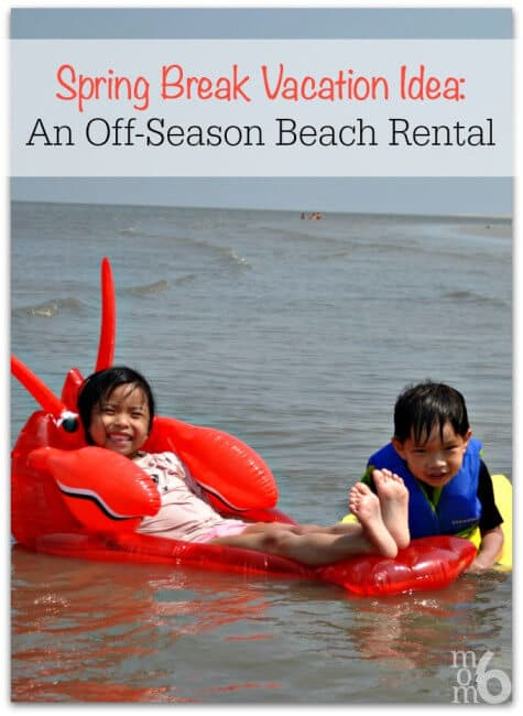 If you are looking for a great spring break idea- why not consider an off-season home or condo rental? This post gives you all the details on how to find the perfect rental for your spring break!
