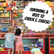 5 Tips for Moms on Surviving a Visit to Chuck E Cheese!