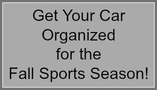 How To Get Your Car Organized for the Fall Sports Season!