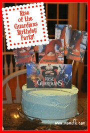 Great 7 Year Old Birthday Party Idea: Rise of the Guardians {Go Out to the Movies} Birthday Party!