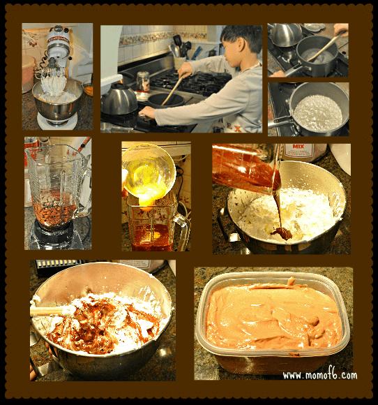 Preparing the Chocolate Mousse