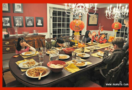 Chinese New Year Dinner with the family
