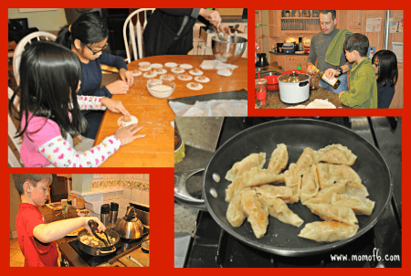 Chinese New Year at Home- Dumplings and Decorations!