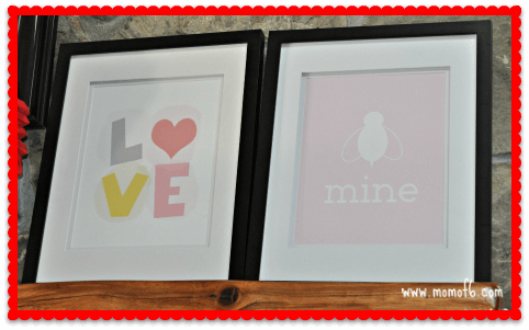 Valentine's Day Decor- Family Room 1