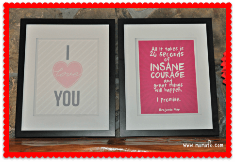 Valentine's Day Decor- Family Room 3