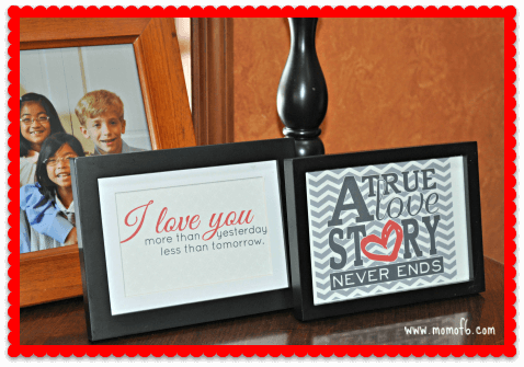 Valentine's Day Decor- Family Room 4