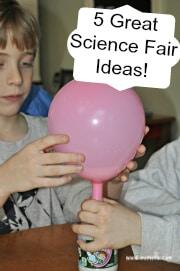 5 Great Science Fair Ideas