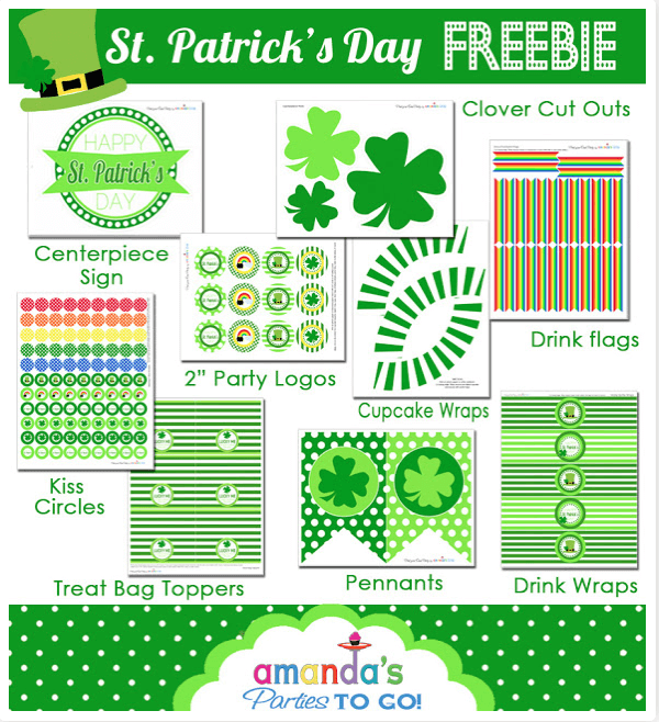 Free St Patty's Day Printables