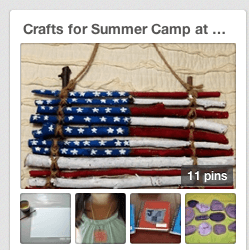 Summer Crafts for Kids {Summer Camp at Home}