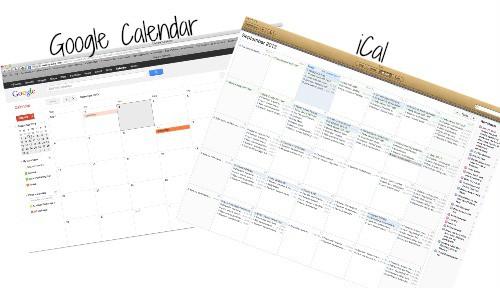 E Calendars
