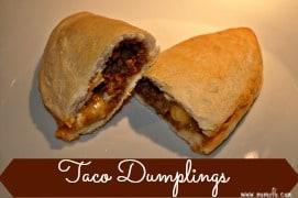 Taco Dumplings Badge