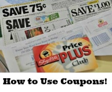 How to Use Coupons {Save $, Shop Smarter Series #3}