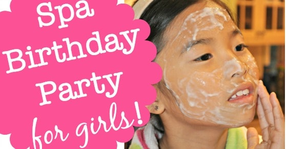 great 9 year old girl u0026 39 s birthday party idea  a spa birthday party