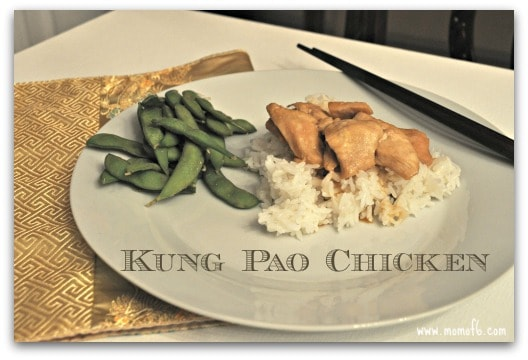Kung Pao Chicken- served