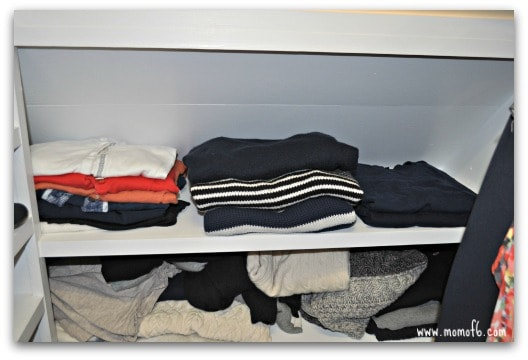 How to Clean Your Closet- One Shelf at a Time!