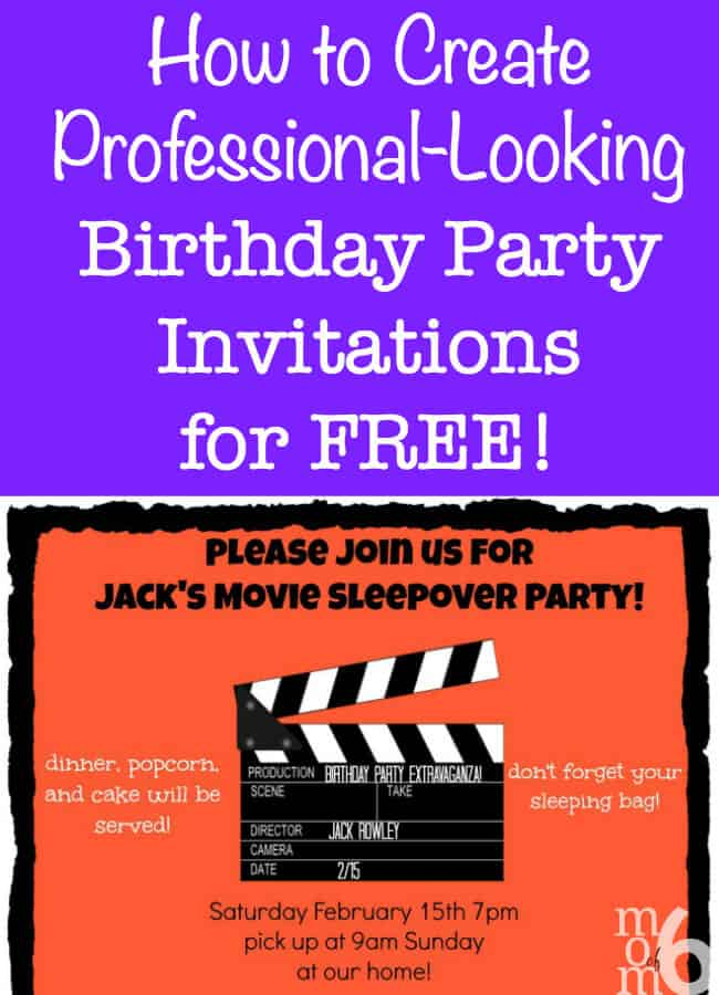 how to create birthday party invitations using picmonkey On where can i buy party invitations