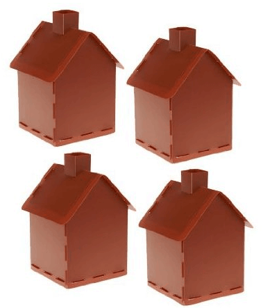 Candy Cottage Gingerbread Houses