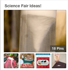 Science Fair Pinterest Board