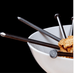 Steve Spangler iron in breakfast cereal