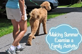 Making Summer Exercise a Family Activity