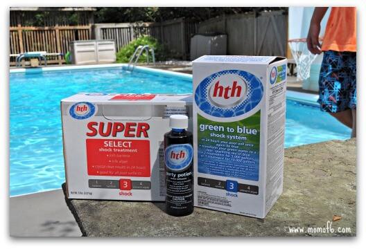 How to tie dye beach towels hthsplash momof6 for Putting shock in pool