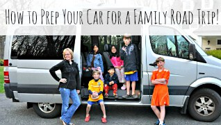 How to Prep Your Car for a Family Road Trip!