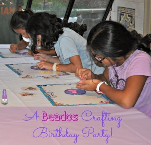 A Beados Craft Birthday Party!