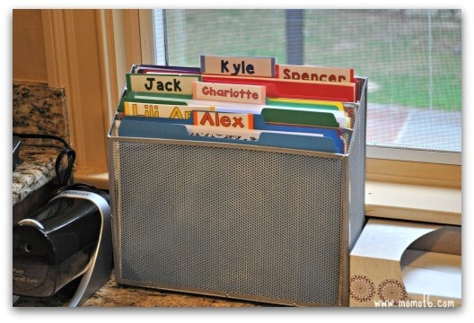 How to Create an Organized Homework Space in the Kitchen