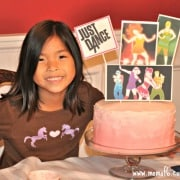 7 Year Old Girl Birthday Party Idea: Just Dance Half-Sleepover Party!