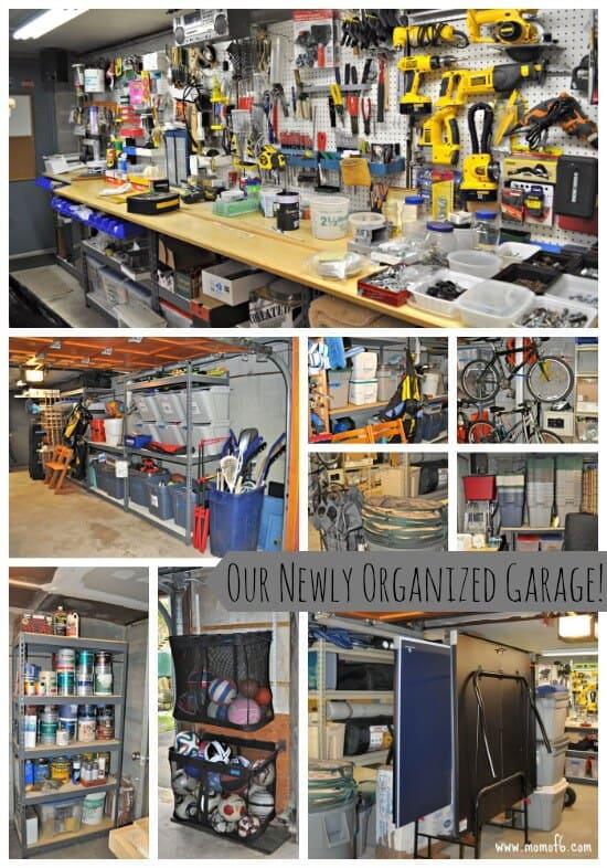 Our Newly Organized Garage
