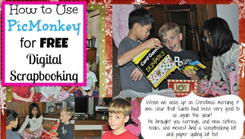 PickMonkey For Scrapbooking
