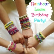 Rainbow Loom Birthday Party!