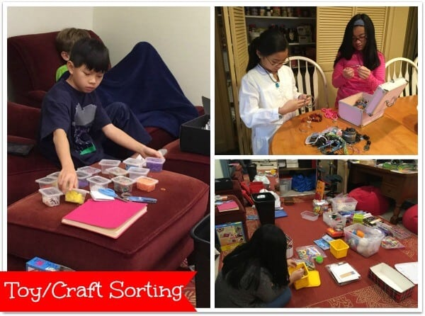 Toy and Craft Sorting