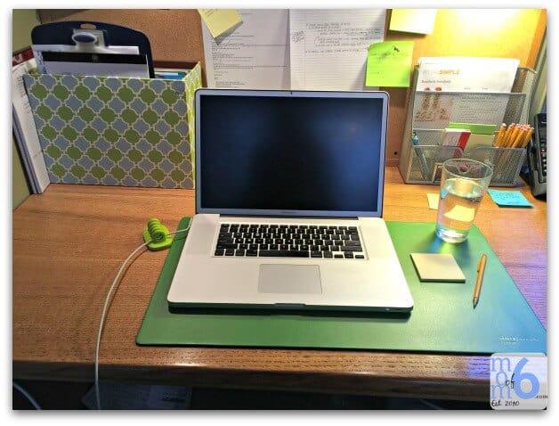 home office makeover momof6. Black Bedroom Furniture Sets. Home Design Ideas