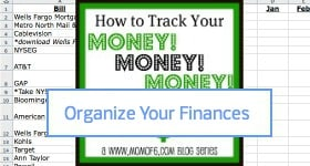 How to Organize Your Finances Sidebar badge