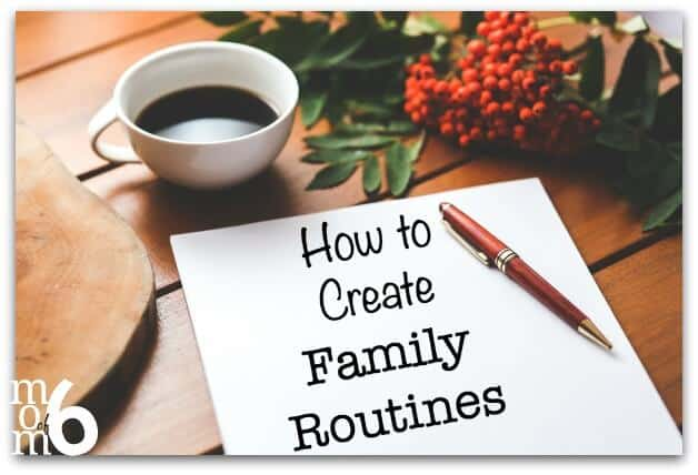 I think that one of the best ways to be organized is to have a set of routines- for yourself and for your family, that outlines the steps of what you need to do, and the order in which you need to do them in order to get through a particular part of the day. Here are family routines for the morning, after school, and evening!