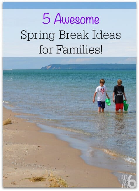 Are you searching for some fun spring break ideas for families? This post has 5 unique ideas for spring break- and I bet you would never have thought of doing #5!