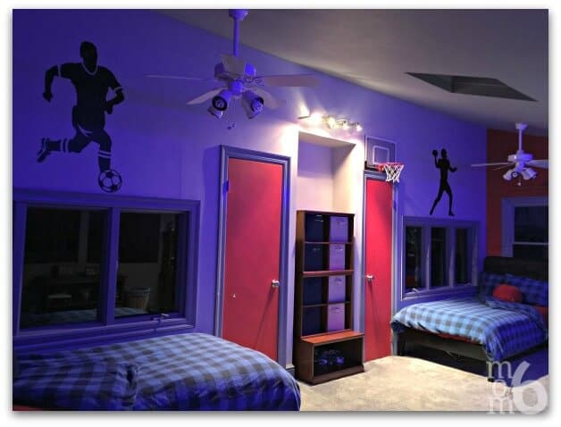 Teen Boys Bedroom Makeover Momof6
