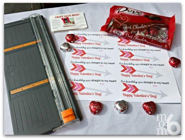 Valentine's for School- Dove Supplies