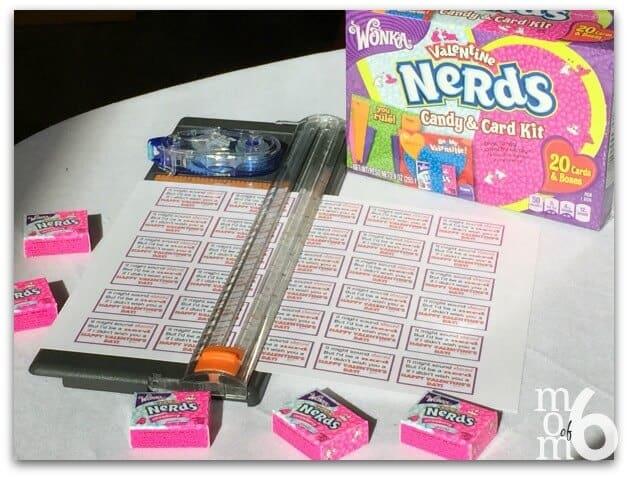 Valentine's for School- Nerds Supplies