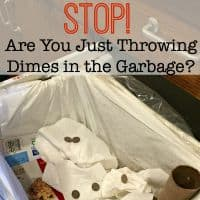 Are You Just Throwing Dimes in the Garbage?